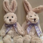 MADISON Bunny with Purple ribbon - CT-SGX22033A R95.00