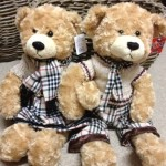 Teddy Bear - Russ GW-TED3030-BURBERRY  R300.00