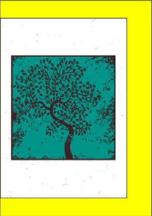 Cards - Turquoise Tree