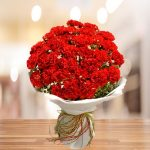 Red Carnation Bouquet (x20) and (x40)
